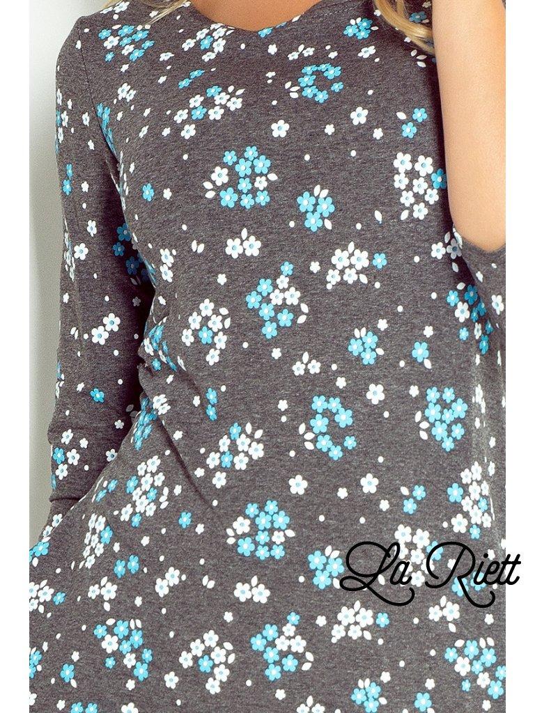 Ležérne šaty s veľkými vreckami 40-9 - www.sonya.sk 5bfaa311ab7