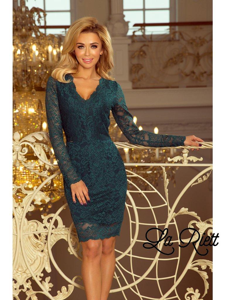 af6965896948 Zelené čipkované šaty 170-3 - www.sonya.sk