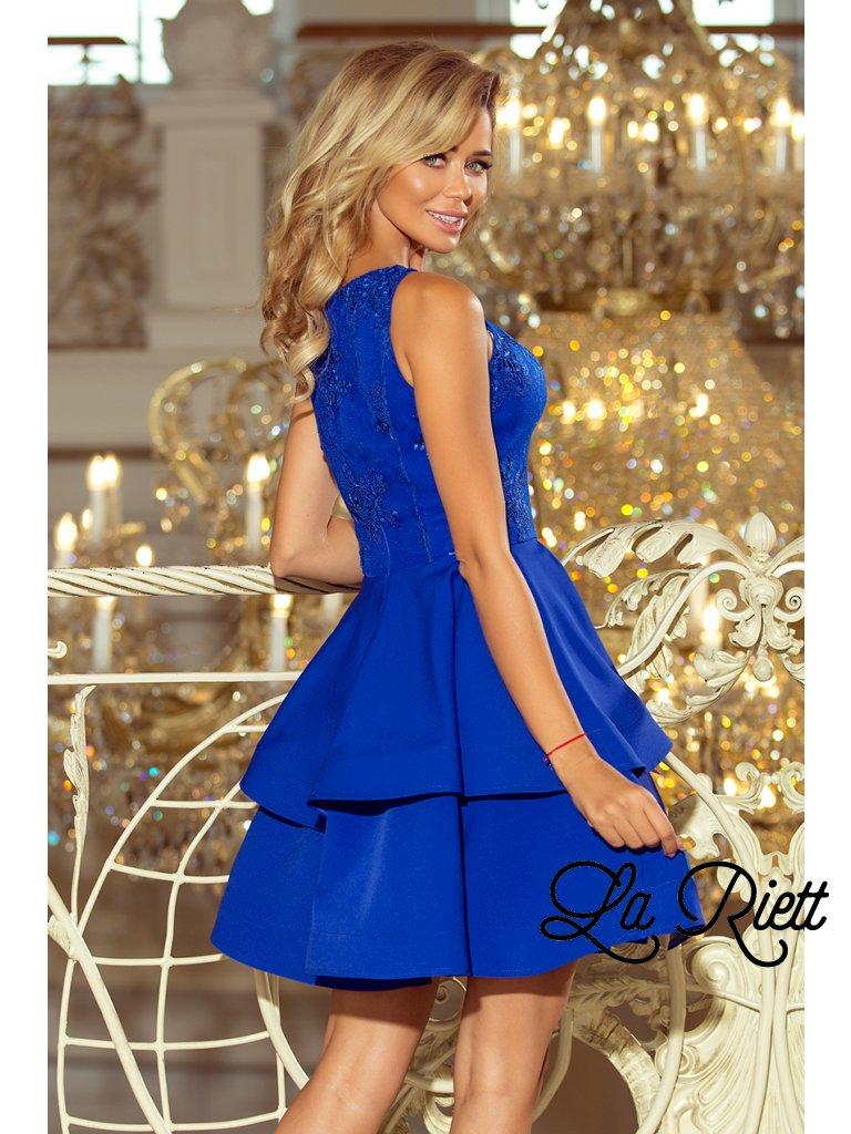 878e639803ec Dámske spoločenské šaty modré 206-1 - www.sonya.sk