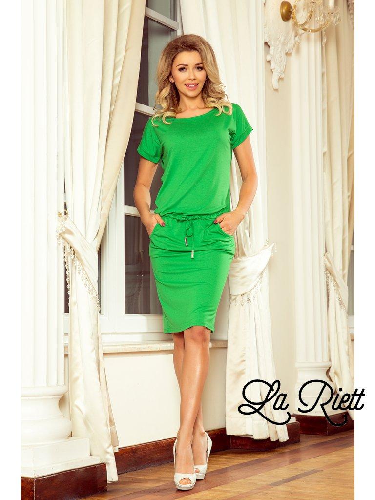 5ad359a345d5 Športové šaty s vreckami green 56-6 - www.sonya.sk